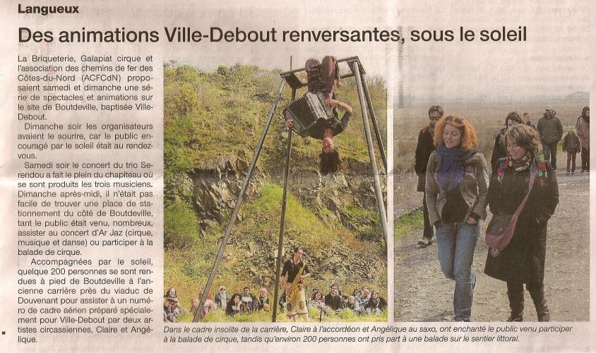 Ouest France / Ville Debout