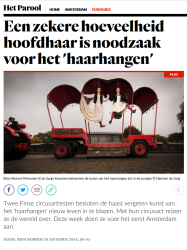 Capilotractées in Amsterdam : Het Parool