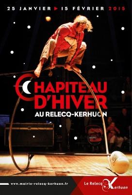 affiche Chapiteau d'Hiver 2015